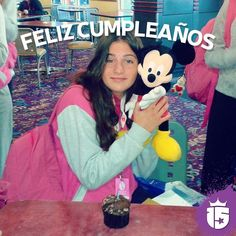 Feliz cumple Bianca!! Te deseamos un gran día de todo el #teamEnjoy15 y el grupo #rojoF16