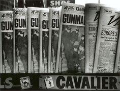 William Klein (American, born 1928) Gun, Gun, Gun, New York  1955