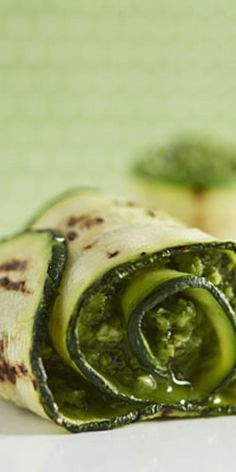 Grilled Zucchini with Parmesan Pesto  - Who doesn't love Independence Day? Fireworks, fun, and good food—thanks to these classic American recipes.