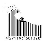 Japanese barcodes are artistic.