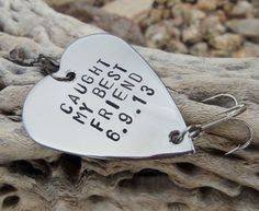 Caught my Best Friend Gifts for Friends by CandTCustomLures, $19.00