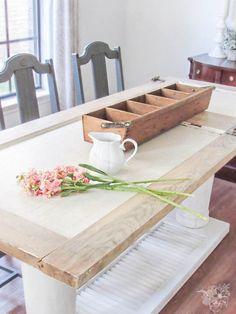 DIY Door Table