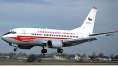 Boeing 737-500 CSA retro 60'