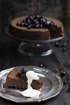 Mustaherukka kakku