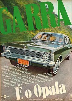 PROPAGANDAS NACIONAIS Opala 1970