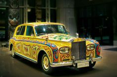 John Lennon's Rolls Royce  .... I've always wanted a yellow Rolls Royce with an interesting past life.