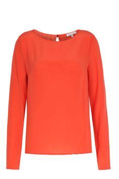 PATRIZIA PEPE Seidenbluse mit Schlitz am Rückteil bei myClassico - Premium Fashion Online Shop