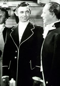 Clark Gable and Franchot Tone in MUTINY ON THE BOUNTY (1935).