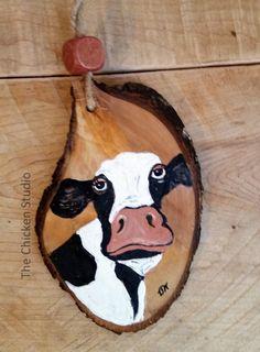 Cow Ornament Christmas Ornament Cow decor Farm ornament