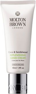 Molton Brown Coco & sandalwood replenishing hand cream 40 ml.