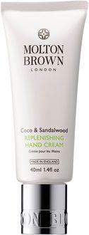 Molton Brown Coco & sandalwood replenishing hand cream 40 ml.