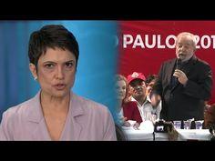 Sandra Annenberg se cala com declaração de Lula