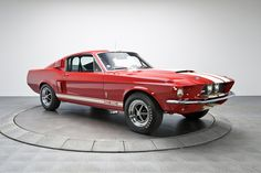 Ford Retro Mustang Shelby 1967 Red Metallic Ca Ford Mustang Shelby, Mustang Gt500, Mustang Boss, Ford Mustangs, 1967 Mustang, Car Ford, Ford Gt, Ford Motor Company, Wallpaper 3840x2160