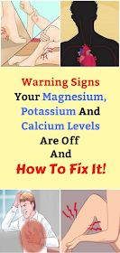 Health Discuss: Warning Signs Your Magnesium, Potassium And Calcium Levels Are Off And How To Fix It! Skin Care Remedies, Health Remedies, Health Tips, Health Care, Medical Facts, Warning Signs, For Your Health, Fitness Diet, Nutrition