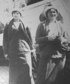 Tatiana and Olga (smiling)