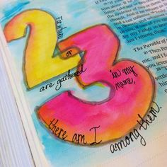 karenscrapsinva Matthew 18:20 For where two or three are gathered... Read more at http://websta.me/tag/biblejournaling#HpJJO3f5uqqHrkdR.99biblejournaling Instagram photos | Websta