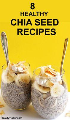 Coconut Banana Chia Seed Pudding (V + GF) – Robust Recipes Coconut Banana Chia Seed Pudding – coconut chia seed pudding with slices of bananas. An EASY healthy dessert recipe! Coconut Chia Seed Pudding, Banana Chia Pudding, Banana Coconut, Toasted Coconut, Coconut Milk, Almond Milk, Healthy Dessert Recipes, Healthy Snacks, Coconut Recipes