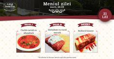 Restaurant Casa Iosefin Timisoara: Meniu Zilei 26.09