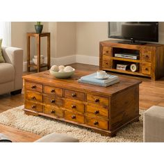 too wide :( ... and high 44x65x118.  Gaya 12 Drawer Trunk Table | Coffee & Occasional Tables | ASDA direct