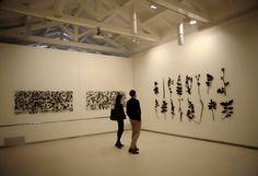 "Jan Hendrix, ""The natural Frame"" Until 10th of June at Fundación Cerezales #leonesp http://www.fundacioncerezalesantoninoycinia.org/node/566"