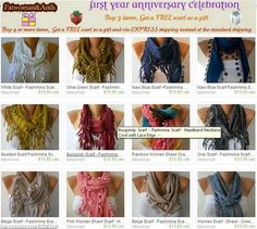Fatwoman Scarves  Sale 990  1490 USD by fatwoman on Etsy, $9.90