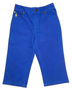 $24.99 - Polo Ralph Lauren Boy's Pants Blue with Pony Logo Size 18 Months Polo Ralph Lauren http://www.amazon.com/dp/B00QD9HJEW/ref=cm_sw_r_pi_dp_vvcQub1A41R2V