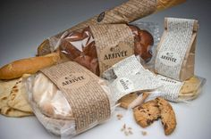 Bakery Branding and Packaging by Larisa Mamonova at Coroflot.com