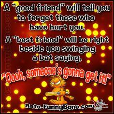 Good vs Best friends