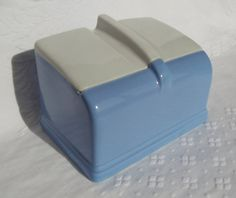 Before Tupperware was born :) VINTAGE Coldspot Refrigerator Dish By Hall China by disNdatVINTAGE on Etsy, $15.00