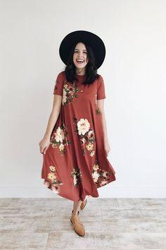 Floral Swing Dress | ROOLEE