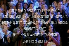 OTH Series Finale <3 Favorite quote!