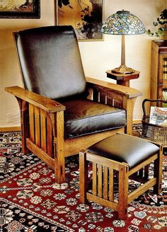 DIY Morris Chair - Furniture Plans
