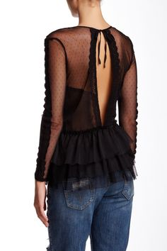 Free People | Midnight Memories Lace Blouse