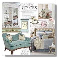 """my happy place"" by giada2017 ❤ liked on Polyvore featuring interior, interiors, interior design, home, home decor, interior decorating, Sunham, bleu, Newgate and shabbychic"