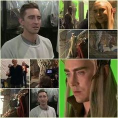 Lee Pace in production. (Lee Pace FB)