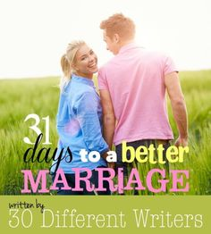 31 Days to a Better Marriage - free eBook for subscribers