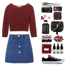 """""""Untitled #3244"""" by tayswift-1d ❤ liked on Polyvore featuring Rebecca Minkoff, Miss Selfridge, Odacité, Converse, Topshop and NARS Cosmetics"""
