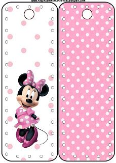 Minnie Rose Complete Kit - With frames for invitations, labels for goodies, souvenirs and pictures! Paper Flowers Craft, Paper Crafts, Invitacion Peppa Pig, Mickey E Minnie Mouse, Autograph Book Disney, Candy Bar Party, Free Printable Cards, Disney Printables, Disney Crafts