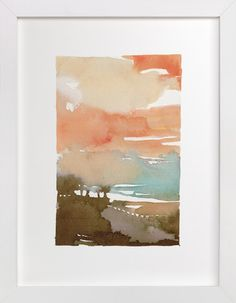 Minted.com- great place for fun artwork at a decent price