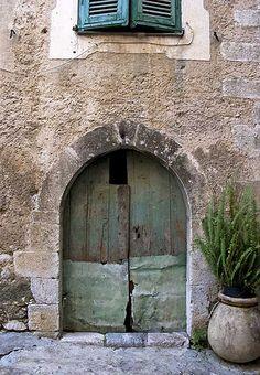 Rita Crane Photography: Doorway in Gorbio, Provence | Flickr - Photo Sharing!