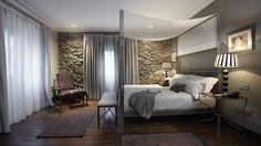 Habitación de hotel decorada por #becara #decoración #elegancia #distinción #inspiración #hogar #dormitorio