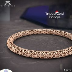 Intricate and brilliant #gold #bangle to showcase. #shopping #fashiondaily #india  #woman