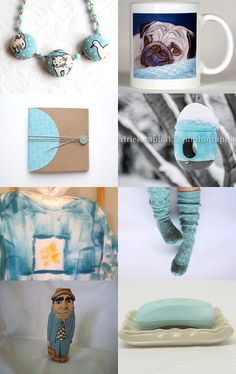 WiNteR BLuES by Pascale on Etsy--Pinned with TreasuryPin.com