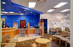 lobbies for children hospitals   pediatric outpatient lobby renovation nationwide children s hospital ...