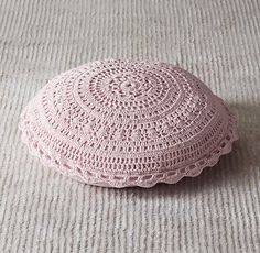 Crocheted Floor Pillow | Floor Pillows | Restoration Hardware Baby & Child