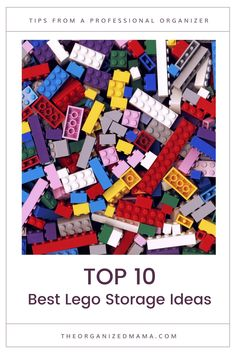 When it comes to Lego storage ideas, this list of the 10 best ideas will help any family create order with Lego bricks. Kids Bedroom Organization, Small Space Organization, Classroom Organization, Organization Hacks, Organizing, Lego Storage, Cube Storage, Storage Ideas, Lap Table