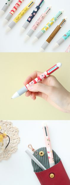 7869a2a9925ca The Illustration 4 Color Pen is the cutest pen with 4 different color inks.  It