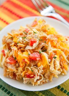 Southwestern Chicken SpaghettiReally nice recipes. Every  Mein Blog: Alles rund um die Themen Genuss & Geschmack  Kochen Backen Braten Vorspeisen Hauptgerichte und Desserts # Hashtag