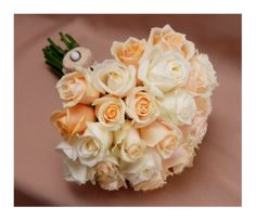 Colors of innocence - bridal bouquet