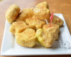 chicken nuggets from ground chicken - 15 oz chicken require 2 eggs maximum